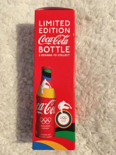 Limited Edition Coca Cola 2012 London Olympic Hurdler Bottle Boxed Unopened