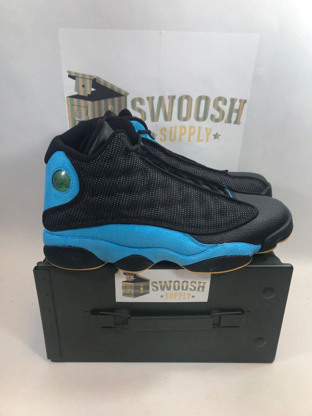 Nike Air Jordan Retro 13 Chris Paul Hornets PE CP3 bluee SZ 9  823902-015