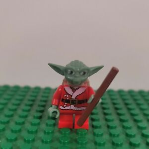 LEGO Minifigura Santa Yoda 2011 Star Wars Natale Avvento Calendario Set # 7958