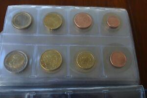 serie euro finlande 2e a 1 cts mixte 2001 2000 2001 2004