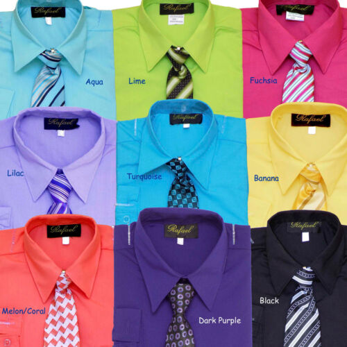 GRADUATION BOYS RECITAL SZ: 2T LONG SLEEVE DRESS SHIRT WITH TIE 20 PARTY