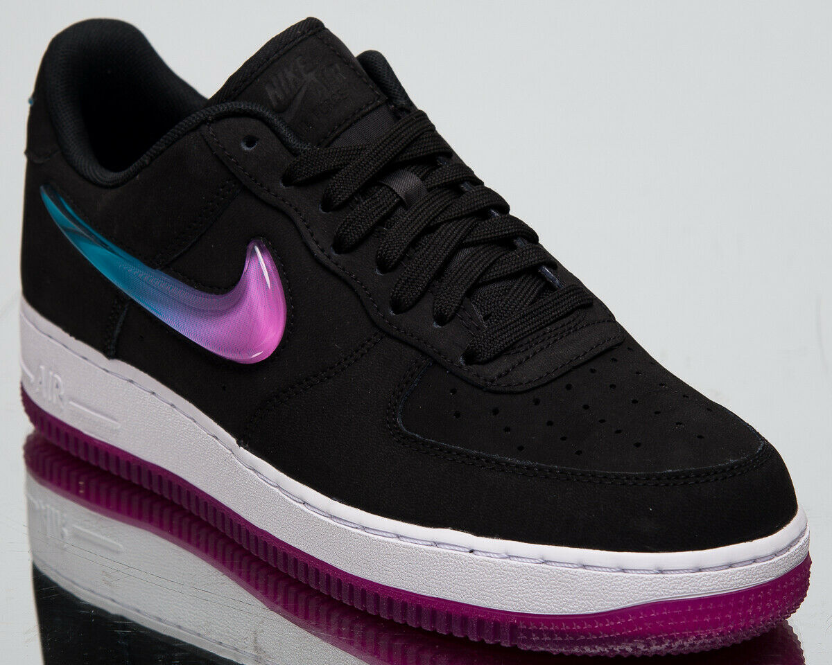 Nike Air Force 0.3m07 Premium Premium Premium 2 Neu Herren Lifestyle Schuhe Schwarz Fuchsien c40595