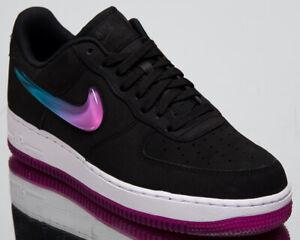 Nike Air Force 1  07 Premium 2 New Mens Lifestyle Shoes Black ... 37c0d1e9b