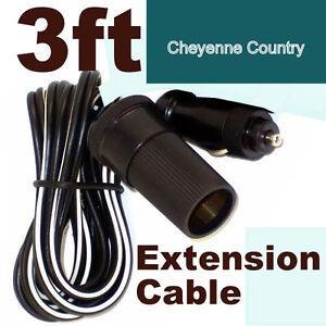 12V-Cigarette-Lighter-Power-Extension-Cable-for-Boats-Trucks-RV-amp-ATV-cc