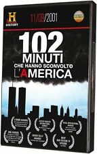 102 Minuti 11 Settembre 2001 History Channel DVD Alta Qualità Nuovo