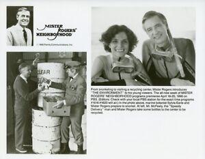 Fred Rogers Sylvia Earle Marine Botanist Mister Rogers Neighborhood Pbs Tv Photo Ebay