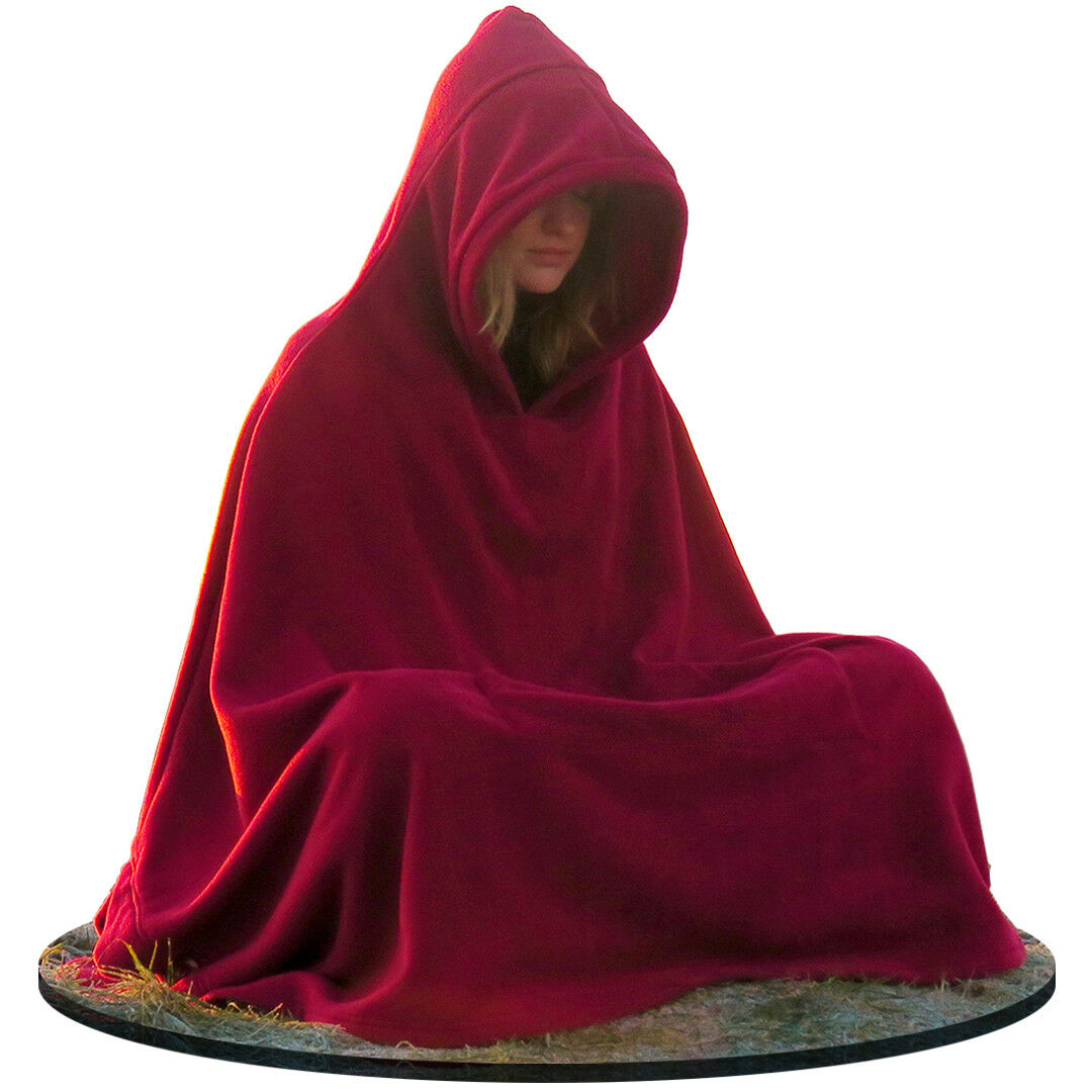 Meditation Cloak   Hooded  Coat - Unisex Women's Men's Yoga Buddhist by Live Up  latest styles