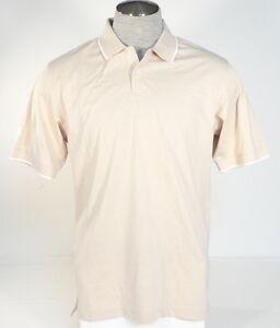 Adidas Signature White Green Blue Cotton Short Sleeve Polo Shirt Mens NWT
