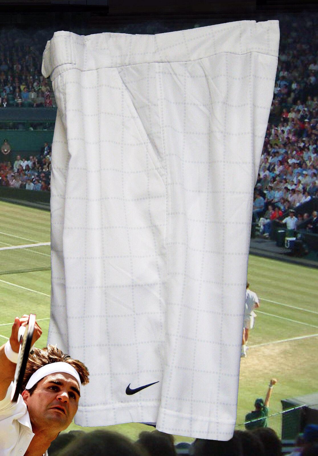 Nuevo Nike Hombre Premium Drifit Pantalones Tenis Grid Patrón blancoo  GRANDE L  Nuevos productos de artículos novedosos.