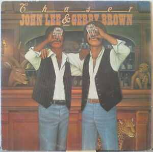 JOHN-LEE-amp-GERRY-BROWN-Chaser-LP-Jazz-Rock-Funk-w-Celebration-White-Label-Promo