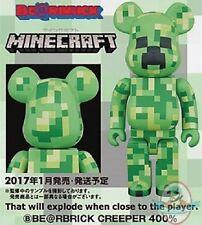 Minecraft Creeper 400% Bearbrick Action Figure by Medicom