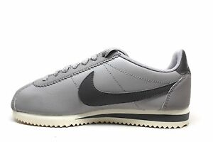 the best attitude 2672c a1b54 Image is loading Nike-Classic-Cortez-Leather-Atmosphere-Grey-Gunsmoke-Sail-