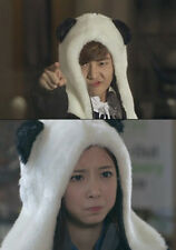 Korean Kdrama Flower Boy Next Door Panda Hat Head and Mittens Spirit Hood