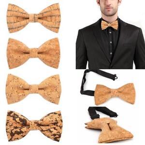 Wooden Bow Tie Mens Gifts Fashion Wedding Wood bowtie Necktie Tie For Men