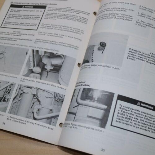 CAT CATERPILLAR 920 930 Wheel Loader Lubrication Maintenance Owner Manual front