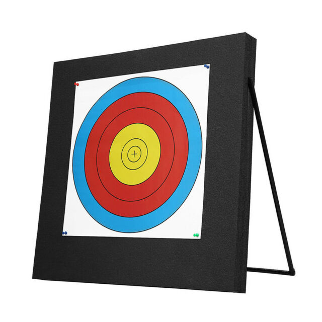 Archery 50*50*5cm Self Healing Foam Target Layered Compound Recurve Bow Practice