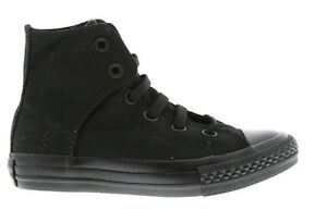 Junior-Converse-ect-Chuck-Taylor-All-Star-Noir-Enfants-Baskets-Montantes