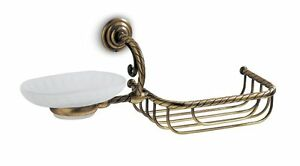 Porta Spugne Da Bagno : Griglia per bagno porta spugna e porta sapone in vetro satinato