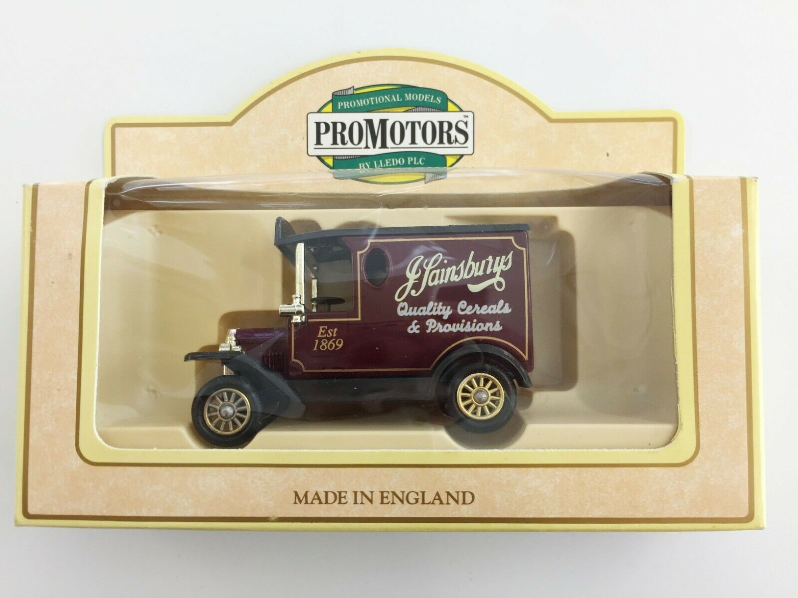 J.Sainsbury Car Van Collection by Lledo PLC - Promotors,  - Boxed Diecast Model