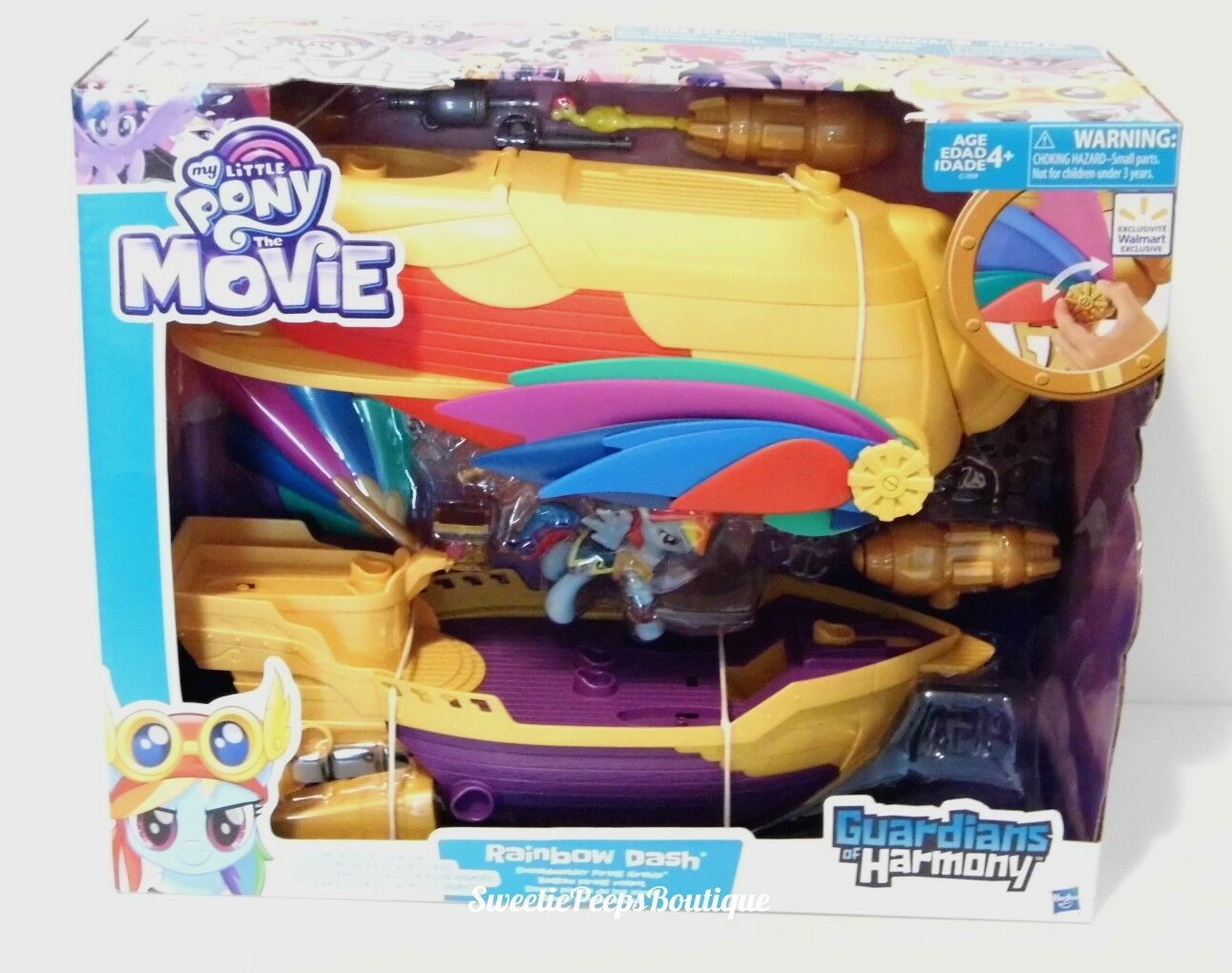 My Little Pony The Movie Guardians Guardians Guardians of Harmony Rainbow Dash Pirate Airship 027cfd