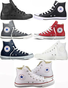 chaussures converses cuir hommes