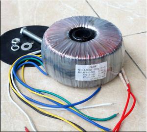600VA-600W-Toroidal-Power-Transformer-Power-Amplifier-50V-0-50V-15V-0-15V-12V-0