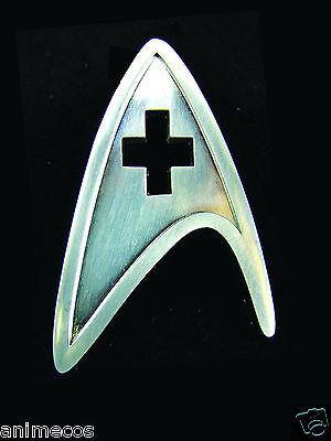 Star Trek New Movie Screen Accurate MEDICAL Insignia Pin Prop Replica
