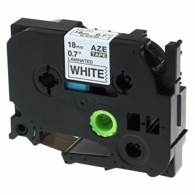 2PK Compatible for Brother TZ751 TZe751 Black Print on Green Tape P-Touch 24mm