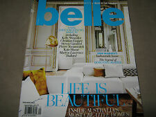 NEW! BELLE Australia Feb/Mar 2013 The Decorating Issue Interior Home Design