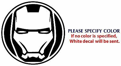 Ironman 3M vinyl decal sticker ez apply no bubbles