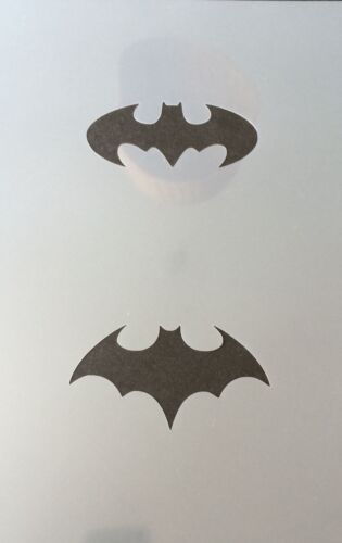 Batman Sign Mylar Reusable Stencil Airbrush Painting Art Craft DIY home