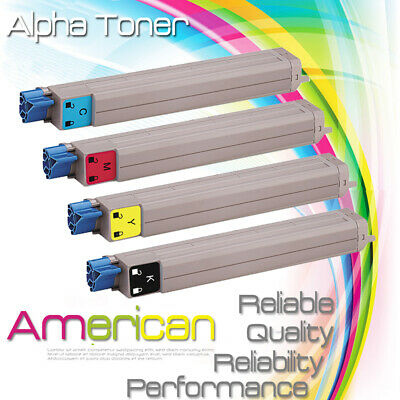 2PK Yellow Toner Cartridge for Okidata Oki C9600 C9850 C9800 42918901 High Yield
