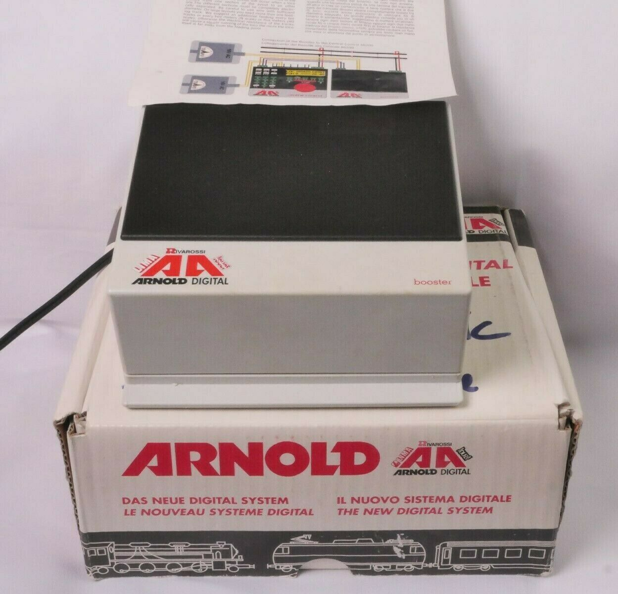 Arnold N 86205 DCC-Booster 3A, sehr guter Zustand