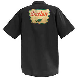 Sinclair-MECCANICA-Graphic-Work-Shirt-a-Manica-Corta
