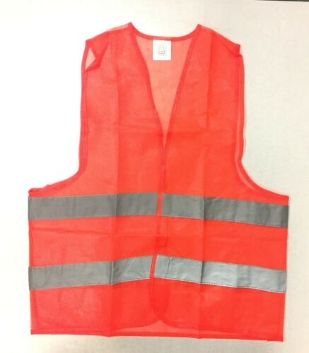 Fluorescent Safety Security Visibility Reflective Vest for Construction Traffic