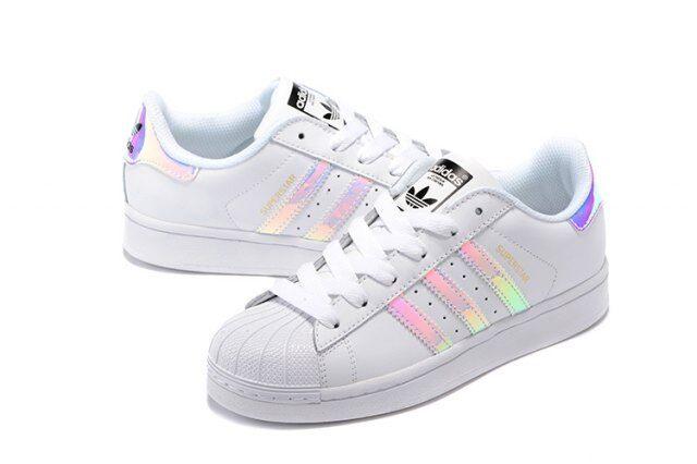 adidas superstar holographic iridescent