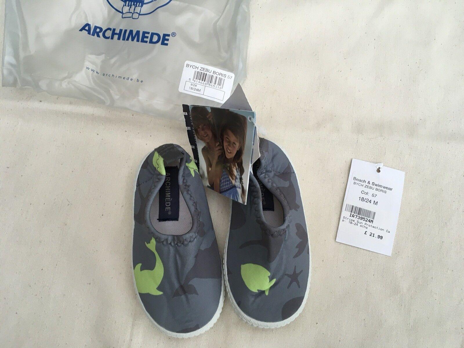 8279564c21c1 ARCHIMEDE Archimède Fish Shoes Boys Children Beach Summer Size 18 ...
