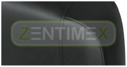 Coprisedili Rivestimenti Set QD per PEUGEOT BOXER ECOPELLE NERA