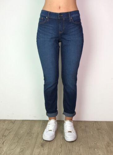 Women/'s Blue jeans slim Indaco EX Di Marca DENIM BLU DONNA TG 6-18