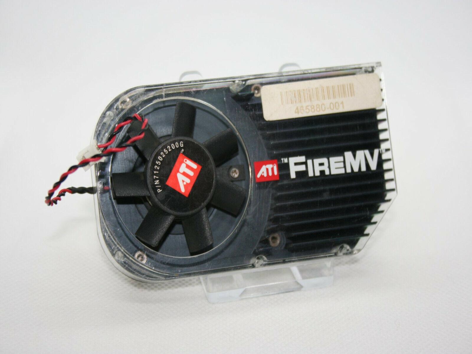 ✔️ ATI HEATSINK AND FAN FOR ATI FireMV 2250 - FULL SET - UK SELLER