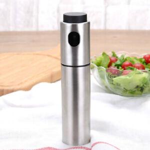 Bratpfannen und für Salate Olivenöl Sprühnebel Flasche aus Edelstahl