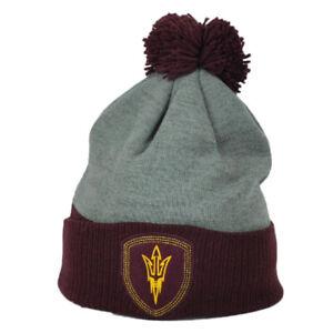 NCAA-Adidas-Arizona-State-Sun-Devils-KR31Z-Pom-Cuffed-Knit-Beanie-Skully