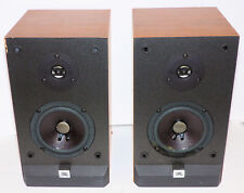 Item 2 Pair Of JBL P10 Audiophile Way Bass Reflex Bookshelf Stereo Speakers 100W