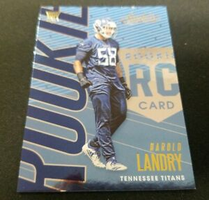2018-Absolute-Football-149-Harold-Landry-RC-Tennessee-Titans