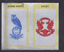 Panini - Football 80 - # 381 Oldham / Orient Badge