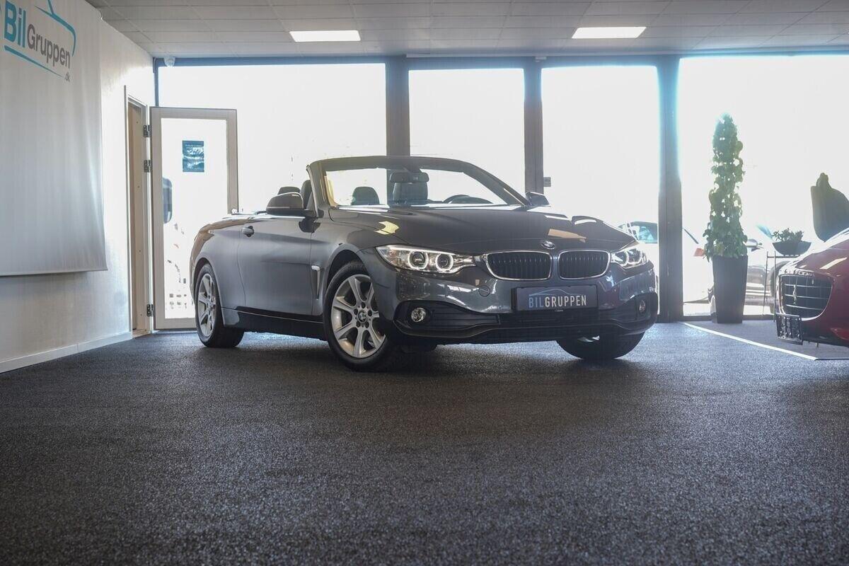 BMW 420d 2,0 Cabriolet aut. 2d - 2.646 kr.