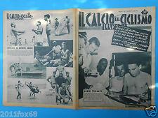 1955 il calcio e il ciclismo illustrato 29 milan tour de france fornara coletto