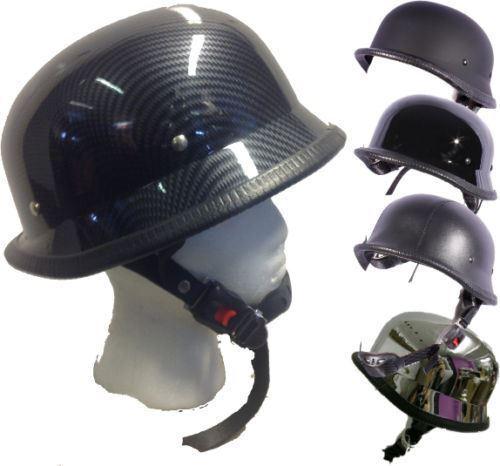 Jethelm Klassisch Deutscher Stil Motorrad Roller Cruiser Helm