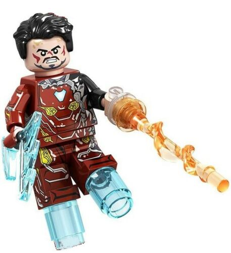 Battle Iron Man Marvel Avengers Iron Man Endgame Custom Lego Mini Figure Toy