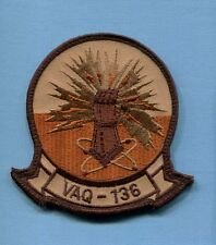 VAQ-136 GAUNTLETS US NAVY GRUMMAN EA-6B PROWLER Desert Squadron Jacket patch